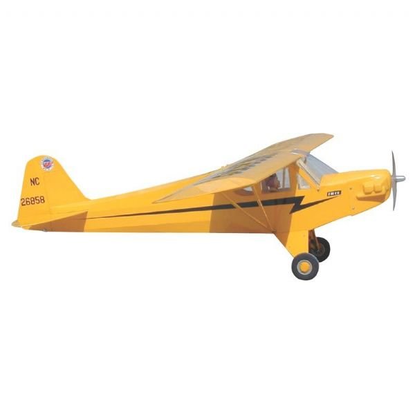 World Models 1/6 Piper J-3 Cub-48s -Yellow